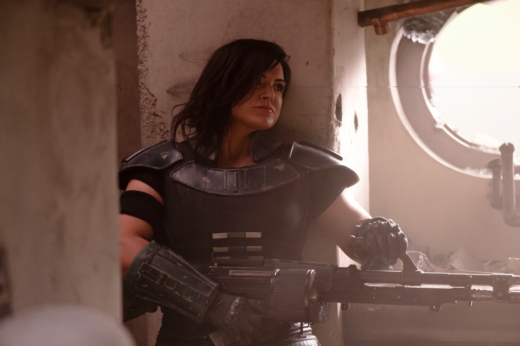 The Mandalorian Gina Carano actress dropped by agency UTA