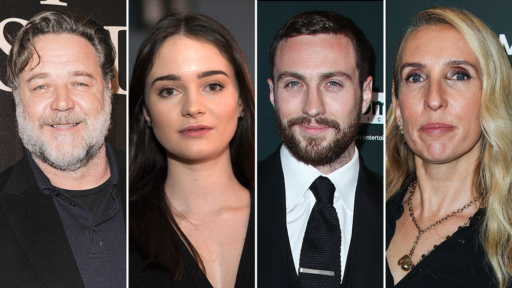 'Rothko': Sam Taylor-Johnson To Direct Art-World Drama With Russell Crowe, Aisling Franciosi, Aaron Taylor-Johnson, More — EFM Hot Package