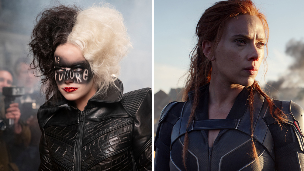 Cruella, Black Widow