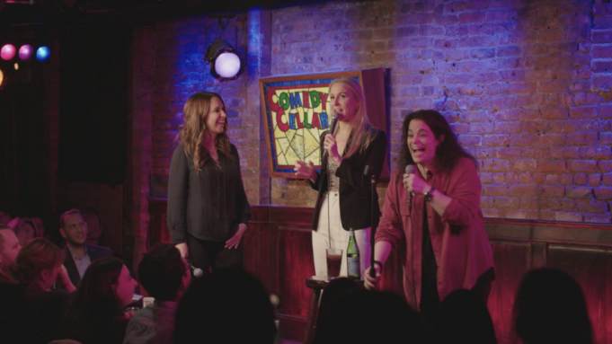 Women standup comedians perform in 'Hysterical'