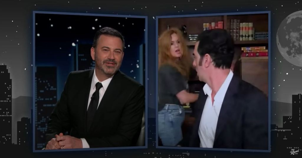 Sacha Baron Cohen Traffics Vax To Celebrities As Isla Fisher Joneses During Jimmy Kimmel Interview.jpg