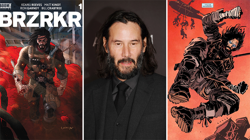 Keanu Reeves To Star In 'BRZRKR' Film & Anime Series At Netflix Based On  His Comic Books – Deadline
