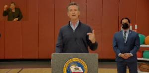 """Newsom Calls For Double-Masking In California; Will Not Follow """"Terrible Mistake"""" Being Made Texas, Florida"""