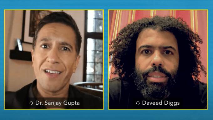 Dr. Sanjay Gupta and Daveed Diggs