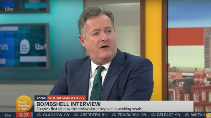 Piers Morgan Quits 'Good Morning Britain' After Meghan Markle Remarks –  Deadline