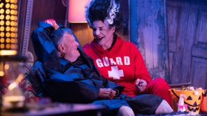 Dick Johnson and Kirsten Johnson in 'Dick Johnson Is Dead'