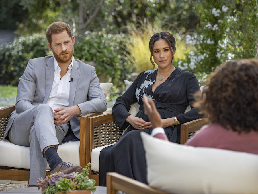 "Meghan Markle Accuses Royal Family Of ""Perpetuating Falsehoods About Us"" In New Promo For Oprah Winfrey Interview On CBS"