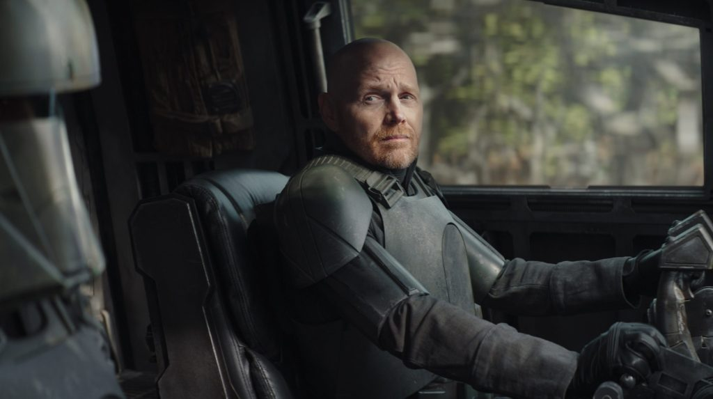 "'The Mandalorian's Bill Burr Defends Gina Carano In Wake Of Her Controversial Statements: ""She Was An Absolute Sweetheart"".jpg"