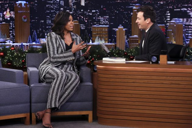Michelle Obama To Appear On 'The Tonight Show' & 'Jimmy Kimmel Live' To Promote 'Waffles & Mochi'