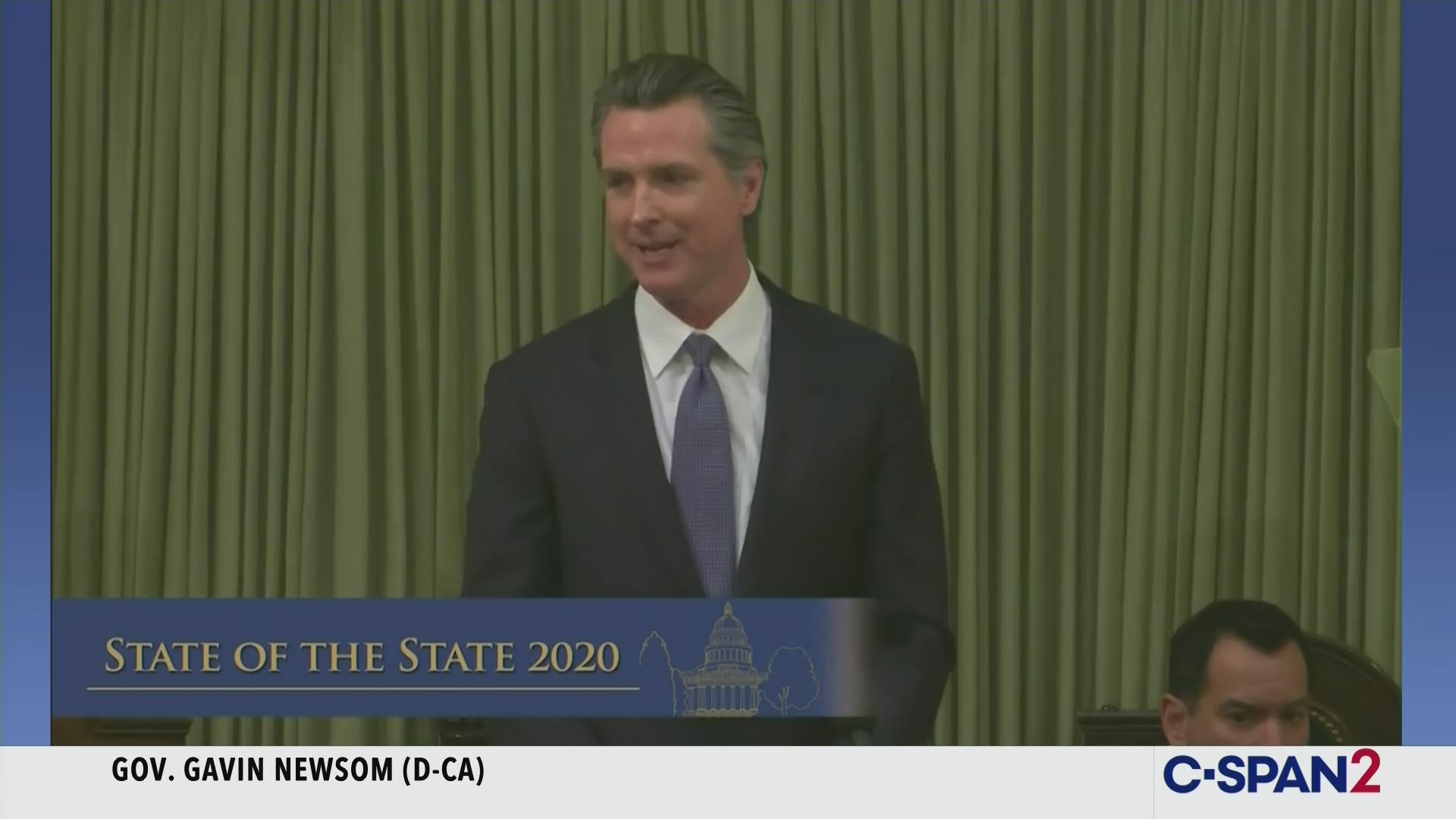Newsom Says Tomorrow's State Of The State Speech Will Be About Farm Workers, Women, Children, Caregivers And CA's Bright Future