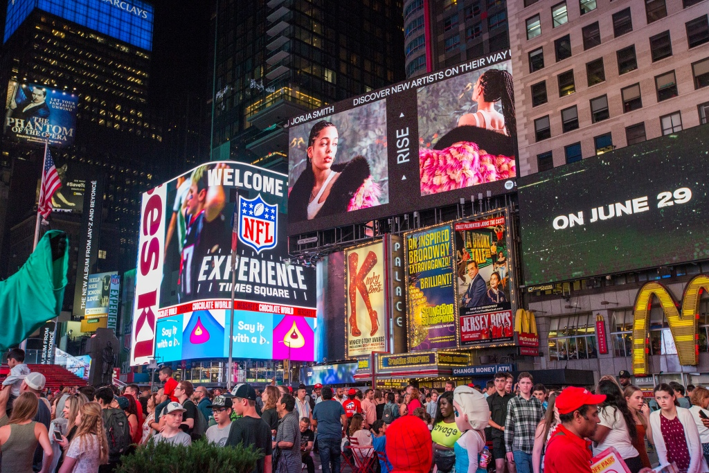 NYC Times Square Covid Vaccination Site Opens To Theater, Film & TV Workers.jpg