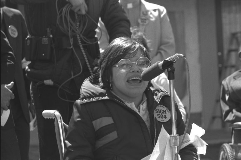 """It's Really Historic"": 'Crip Camp' Subject Judy Heumann On Disability Rights Documentary's Oscar Nomination"