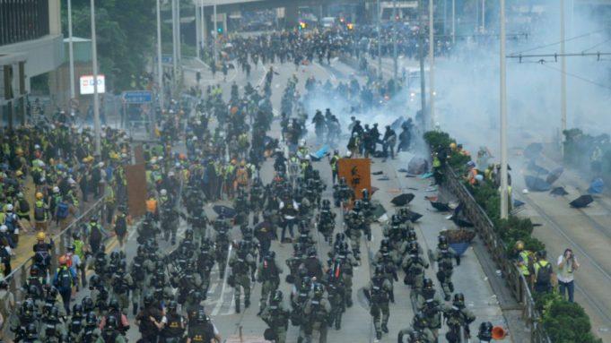 Hong Kong protests in 'Faceless'