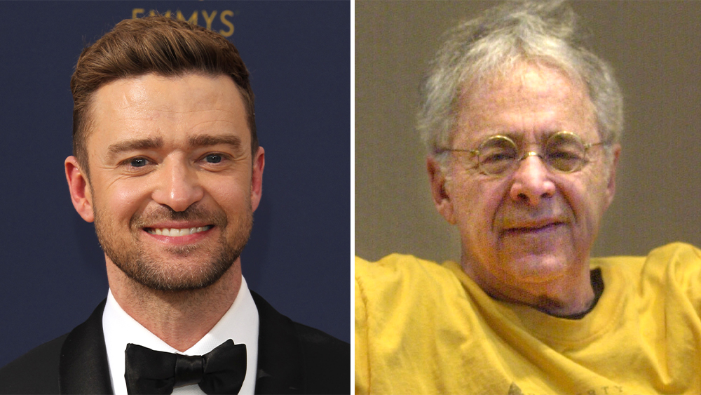 Justin Timberlake At Center Of Apple Auction Win; He'll Play 'Gong Show' Host/CIA Assassin Chuck Barris In Hourlong Series Project.jpg