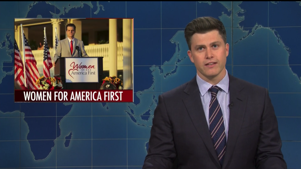 'SNL's Weekend Update Takes On Latest Matt Gaetz Allegations, Georgia Boycotts & More.jpg