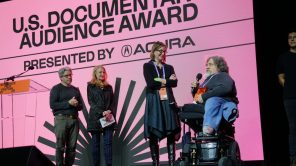'Crip Camp' directors Nicole Newnham and Jim LeBrecht at the Sundance Film Festival