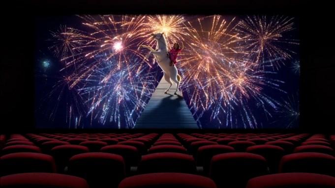 'The Big Screen Is Back': Disney's