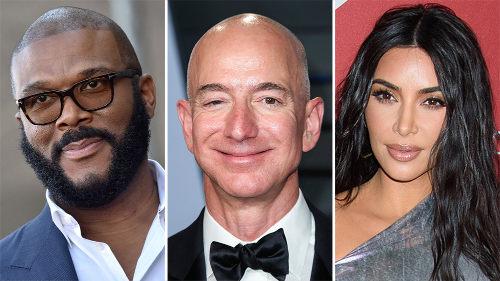 Tyler Perry Jeff Bezos Kim Kardashian