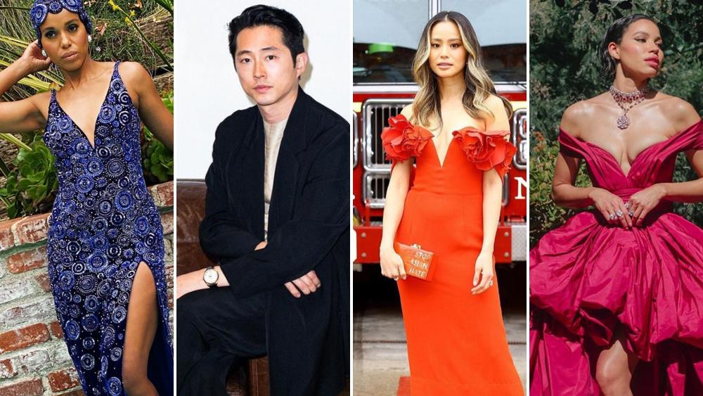 SAG Awards Portraits: Kerry Washington, Steven Yeun, Jamie Chung, Jurnee Smollett And More