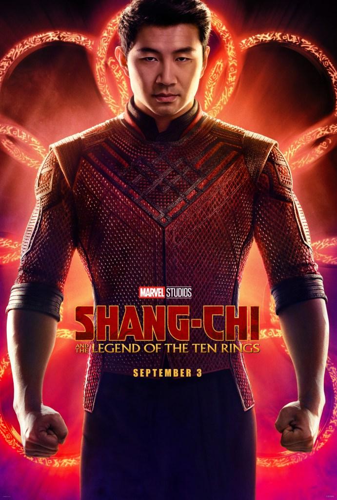 Shang-Chi e la leggenda dei dieci anelli poster