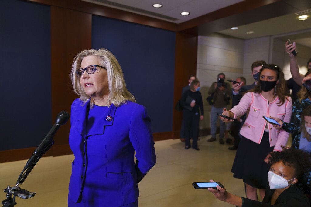 Liz Cheney Is Ousted From GOP Leadership, With A Contrast In Coverage –  Deadline