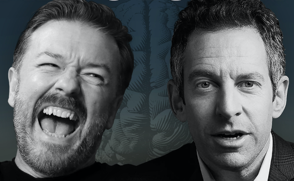 Ricky Gervais To Launch Podcast 'Absolutely Mental' With Sam Harris –  Deadline