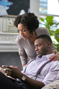 Lauren E. Banks and Aldis Hodge in 'City on a Hill'
