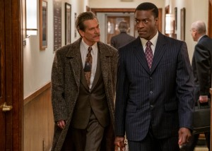 Kevin Bacon and Aldis Hodge in 'City on a Hill'