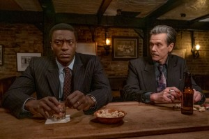 Aldis Hodge and Kevin Bacon in 'City on a Hill'