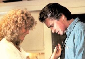 Glenn Close and Michael Douglas in 'Fatal Attraction'