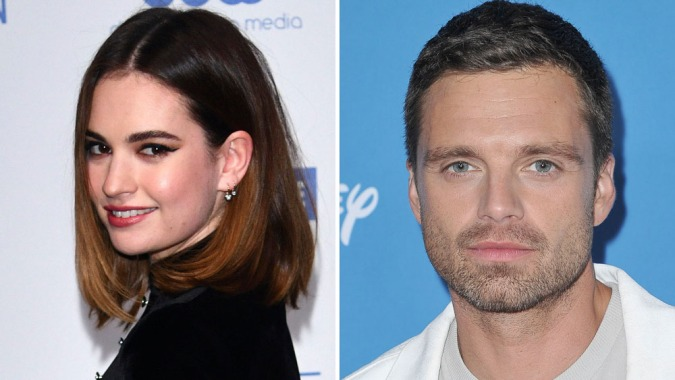 'Pam & Tommy': First Photos Of Lily James & Sebastian Stan As Pamela Anderson & Tommy Lee In Hulu Limited Series
