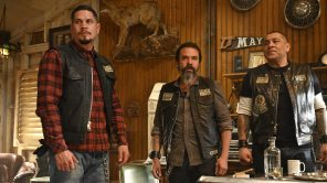 JD Pardo, Michael Irby and Frankie Loyal in 'Mayans M.C.'