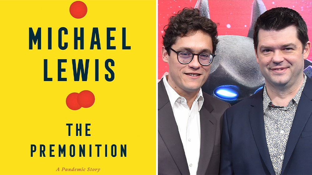 Universal Lands Michael Lewis Pandemic Book 'The Premonition'; Lord & Miller Will Direct And Produce With Amy Pascal.jpg