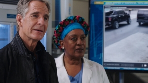 Scott Bakula and CCH Pounder in 'NCIS: New Orleans'