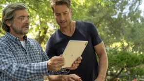 Griffin Dunne and Justin Hartley in 'This Is Us'