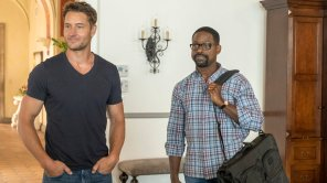 Justin Hartley and Sterling K. Brown in 'This Is Us'