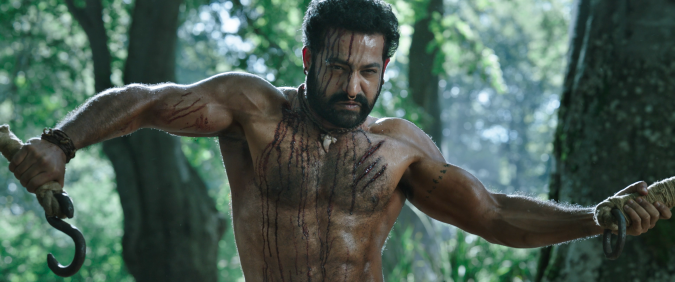 'RRR' Star Jr NTR Gives First Interview About Mega-Budget Action Pic From 'Baahubali' Director S.S. Rajamouli
