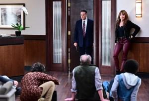 Andy Garcia and Katey Sagal in 'Rebel'