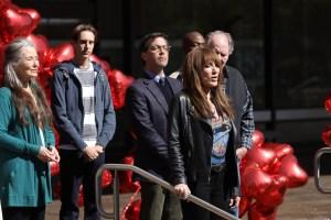 Mary McDonnell, Dan Bucatinsky, and Katey Sagal in 'Rebel'