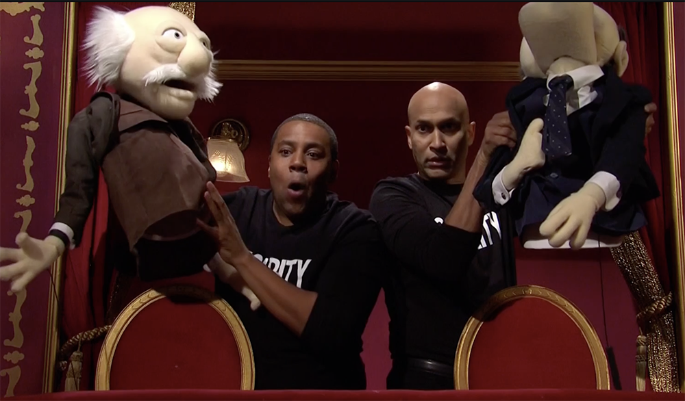 'SNL': Keegan-Michael Key & Kenan Thompson Tell The Muppets' Statler & Waldorf Off.jpg