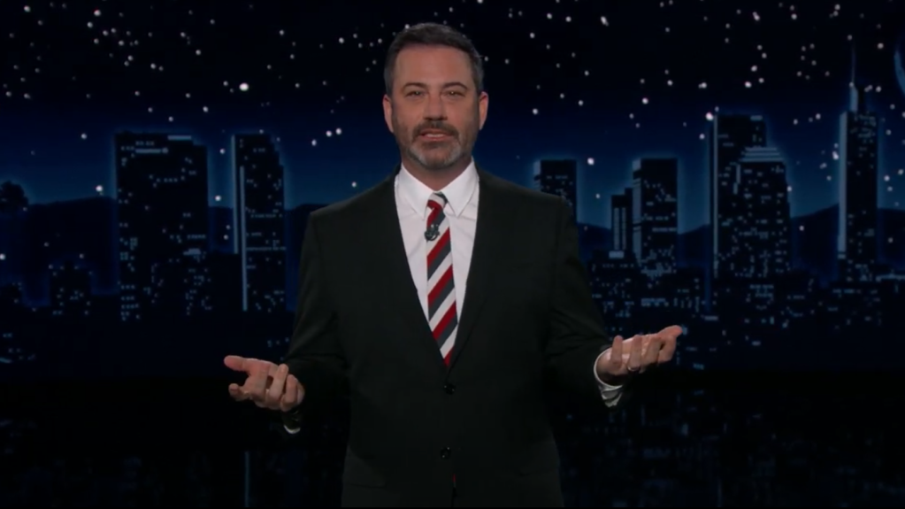 Jimmy Kimmel & Ted Cruz Feud Escalates, Spanning TV & <b>Twitter</b> thumbnail