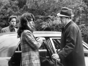 "Michael Douglas, Stefanie Powers, Karl Malden in 'The Streets of San Francisco"""