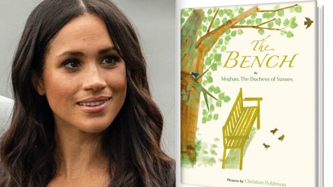 Meghan Markle y su libro The Bench