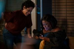 Liza Colón-Zayas and Uzo Aduba in 'In Treatment'
