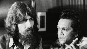 George Harrison and Ravi Shankar in '1971'