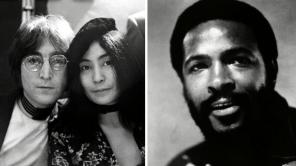 John Lennon, Yoko Ono and Marvin Gaye in '1971'