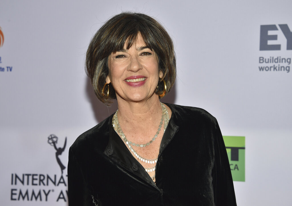 CNN's Christiane Amanpour Says She's Been Diagnosed With Ovarian Cancer
