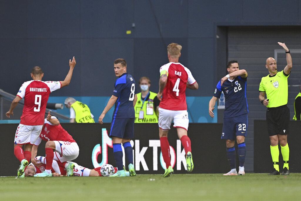 Denmark Soccer Star Christian Ericksen Collapses On Field During Live Broadcast, CPR Administered, Match Suspended – Update.jpg