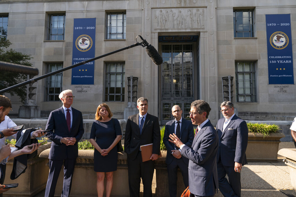 Media Executives Meet With Attorney General As DOJ Vows To Limit Seizure Of Journalists' Records
