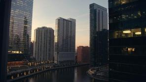 The Chicago River in the Loop
